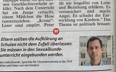 "Krone berichtet über verstörenden ""Sexualunterricht"" an Volksschule"
